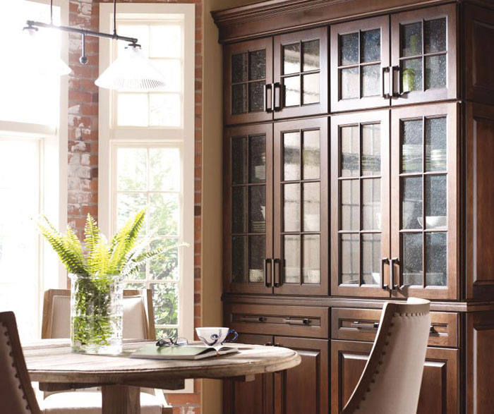 Dining room cabinets by Diamond Cabinetry